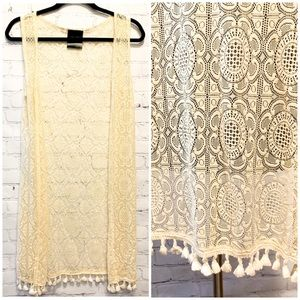 Lacy Sumer Cover-Up/Cardigan by EarthBound